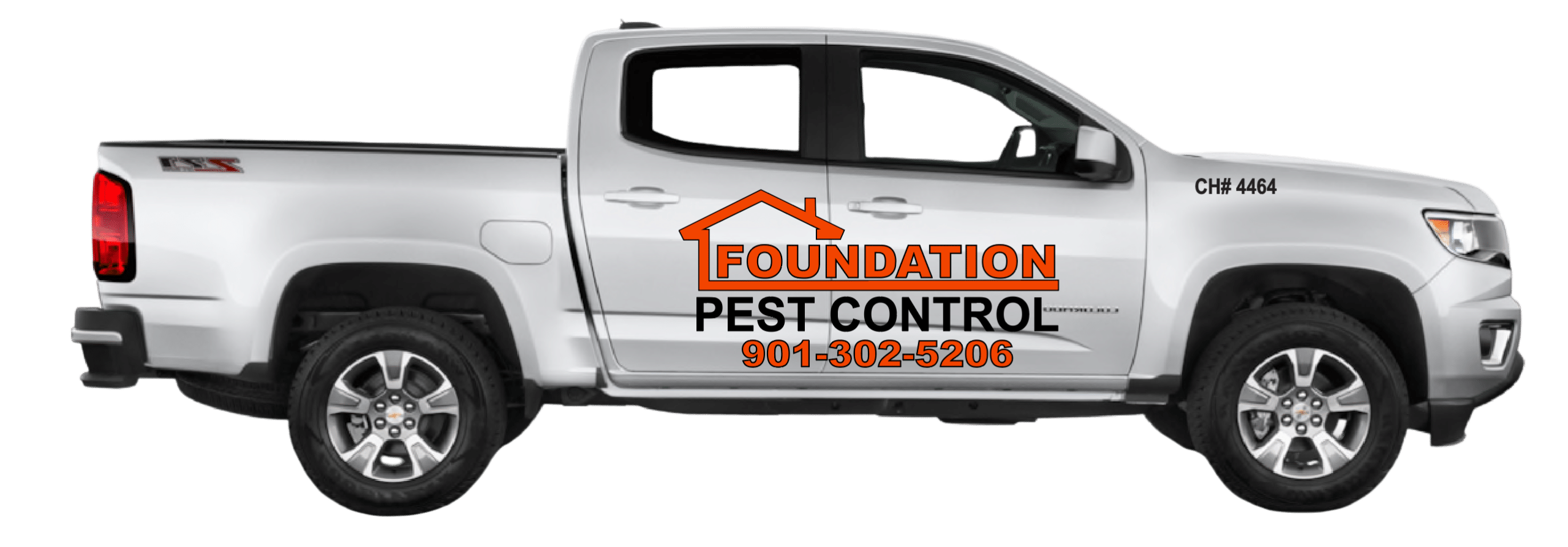 Foundation Pest Control Truck