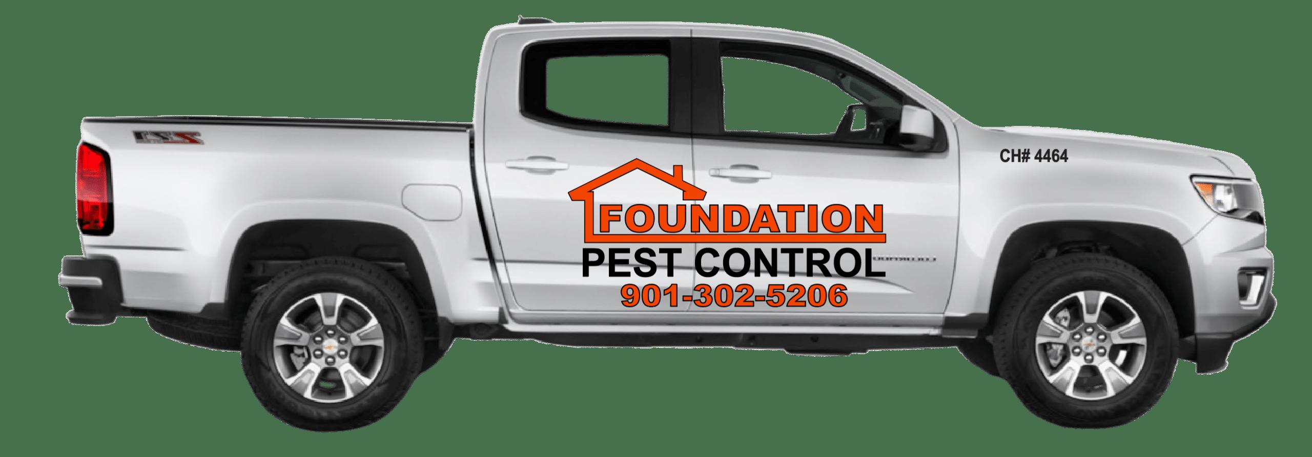 Foundation Pest Control Truck